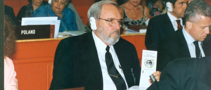 Yisrayl Hawkins at a UN Conference